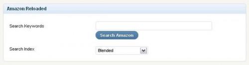 Amazon Reloaded 検索フォーム
