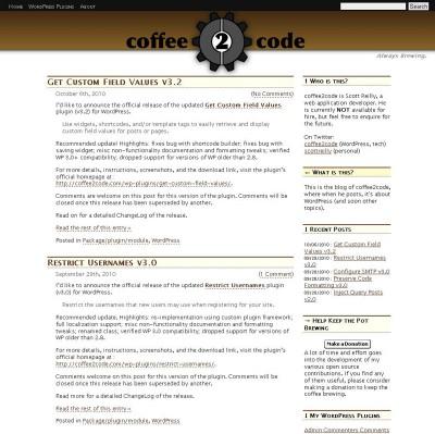 coffee2code
