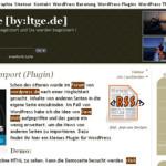 Tumblr をサイドバーに表示する RSS Import