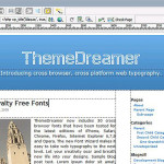 WordPress 用 Dreamweaverエクステンション 「ThemeDreamer」
